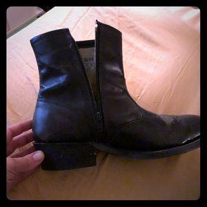 Men's Authentic Western Leather Boots sz 10